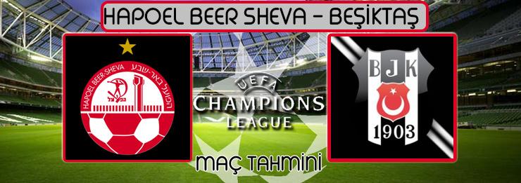 Hapoel Beer Sheva Beşiktaş