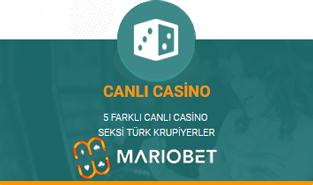 mario canlı casino