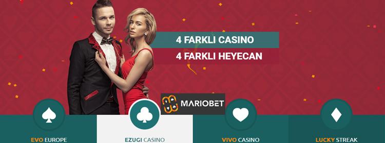 mariobet yeni casino oyunları