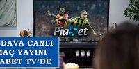 Piabet TV İle Canlı Maç İzle